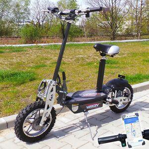 "Elektro- Scooter 1000 Watt - ""VIRON"" E-Scooter 1000W / 36V Elektroroller mit Smartphone- Halterung"