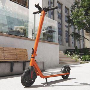 Elektro Scooter 700 W Escooter mit APP & Bluetooth Roller Elektroroller Faltbar Aluminium E-Scooter - orange