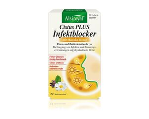 Alsiroyal  Cistus PLUS Infektblocker mit Manuka-Honig 90 Lutschtabletten