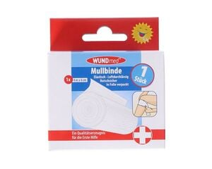 Mullbinde  elastisch WUNDmed, 6cm weiß