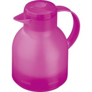 EMSA 1,0 l Isolierkanne SAMBA QUICK PRESS Pink-transluzent