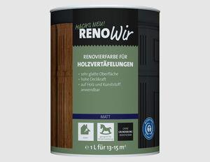 RENOWIR Renovierfarbe Holzvertäfelung