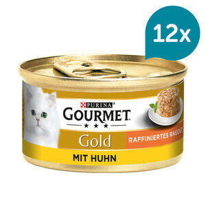 Gourmet Gold Raffiniertes Ragout Huhn 12x85g