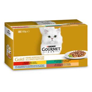Gourmet Gold Feine Komposition 4x85g