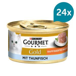 Gourmet Gold Raffiniertes Ragout Thunfisch 12x85g