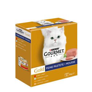 GOURMET Gold Feine Pastete Mixpaket 8x85g