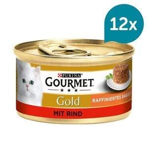 Gourmet Gold Raffiniertes Ragout Rind 12x85g