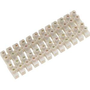 CMI Lüsterklemme Ø 1,5 mm Weiß 2 Stück