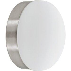 Eglo LED-Wandleuchte Cupella Nickel matt 13 cm