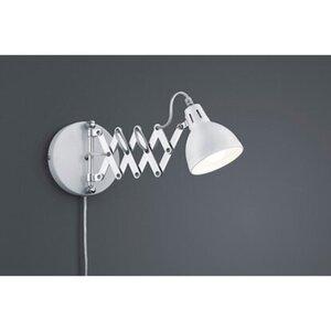 Reality LED-Wandleuchte Scissor Weiß Matt Metall