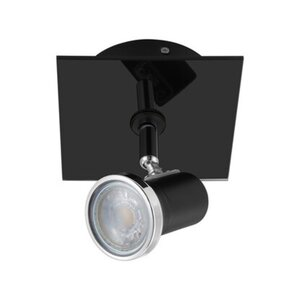 Eglo LED-Spot 1er Tamara GU10 Schwarz-Klar