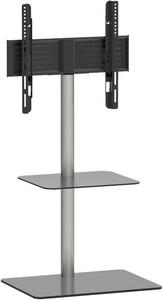 Alani mit Zwischenboden schwarzglas TV-Möbel