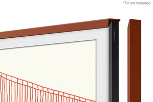 Abgeschrägt Terracota Rahmen 65 Zoll für The Frame (2021)