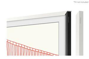 Weißer Moderner Rahmen 50 Zoll für The Frame (2021)
