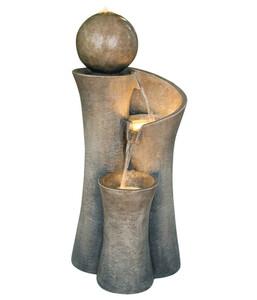 Dehner Polyresin-Gartenbrunnen Acapulco, ca. B45/H100/T42,5 cm