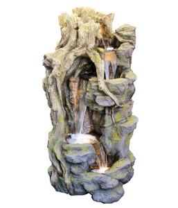 Granimex Polyresin-Gartenbrunnen Lei Sheng