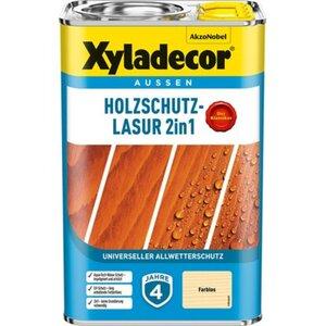 Xyladecor Holzschutz-Lasur 2in1 Farblos 4 l