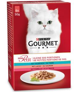PURINA GOURMET™ Nassfutter Mon Petit, 6 x 50g