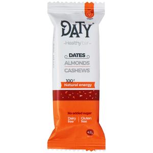 DATY Healthybar Dattelriegel Mandel & Cashew