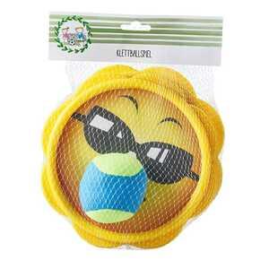 """Klettballspiel """"Funny Faces"""", 3-teilig, verschiedene Designs"""