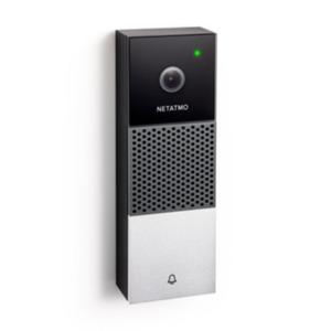 Netatmo Smarte Videotürklingel schwarz