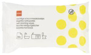 HEMA 50er-Pack Feuchte Reinigungstücher, 20 X 15 Cm