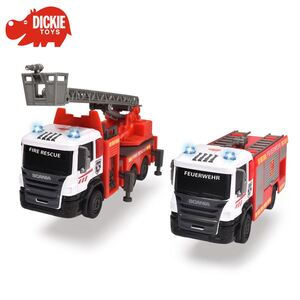 Dickie Toys Scania Feuerwehrauto 14,5cm