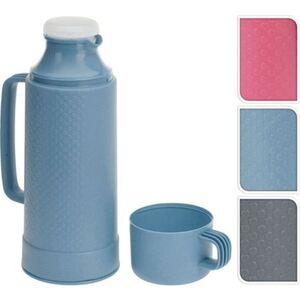 Kunststoff-Isolierkanne mit Tasse 1L