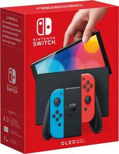 Nintendo Nintendo Switch (OLED-Modell) Neon-Rot/Neon-Blau