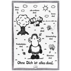 Sheepworld Kuscheldecke - Ohne dich ist alles doof