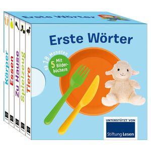 Babybuch 5er-Set/Kinderbuch mit Klappenquiz
