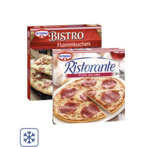 Dr. Oetker Ristorante Pizza, Piccola oder Bistro Flammkuchen