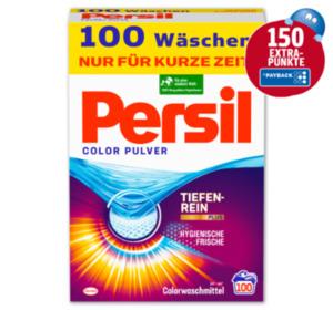 150 Extra-Punkte beim Kauf von PERSIL Color Pulver