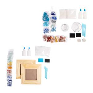 LIVING ART     DIY-Mosaik- Fotorahmen / -Kerzenhalter