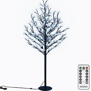 Deuba Kirschblütenbaum 220 LED 220cm, Blau