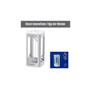 """Philips              Desinfektions-Tischleuchte """"UV-C"""", silber"""
