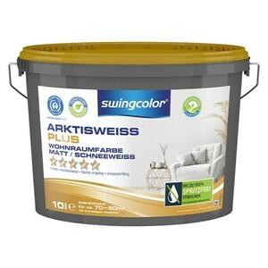 swingcolor Wandfarbe Arktisweiß Plus