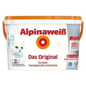 Alpina Wandfarbe Alpinaweiß Gutscheinaktion