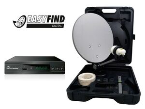 MicroM Camping Satanlage Micro CS 35 HD Easyfind