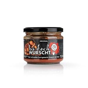 Iss doch Wurscht Currywurst-Snack im Glas versch. Sorten 250g