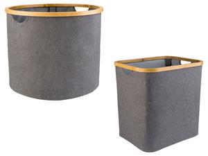 Livarno Home Wäschekorb, mit Bambusrahmen