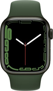 Watch Series 7 (41mm) GPS Alu mit Sportarmband grün/klee