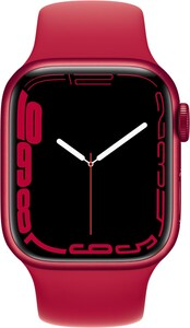 Watch Series 7 (41mm) GPS (PRODUCT)RED Alu mit Sportarmband rot