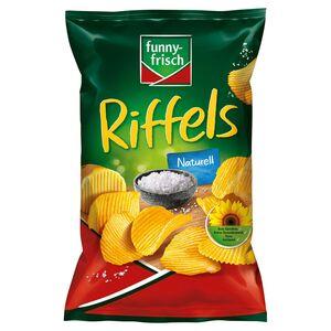 FUNNY-FRISCH Ofen Chips oder Riffels 150 g