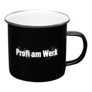 """Contorion Metall-Tasse """"Profi am Werk"""""""