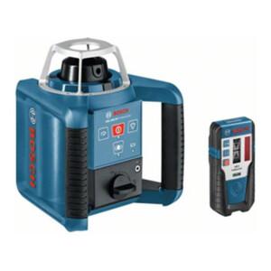Bosch Rotationslaser GRL 300 HV mit RC 1 WM 4 LR 1 BT 170 HD und GR 240