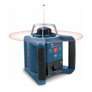 Bosch Rotationslaser GRL 300 HV mit RC 1 WM 4 LR 1 BT 300 HD und GR 240