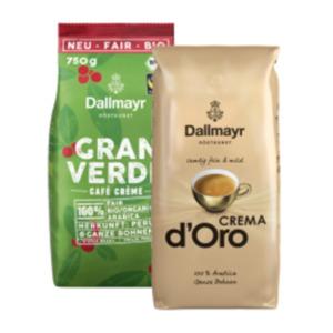 Dallmayr Crema d'Oro oder Gran Verde