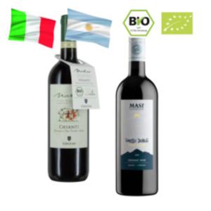 Cecchi Natio Bio-Chianti oder Masi Passo Doble Rosso di Argentina