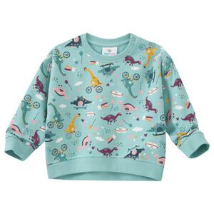 Baby Sweatshirt mit Dino-Allover
